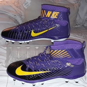 Nike Lunarbeast purple and yellow